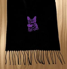 German Shepherd Scarf