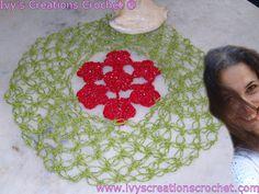 Crochê Tricô: Centrinho Floral