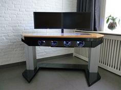 Custom computer desk caseInterior Design Ideas - Desk : Interior ...