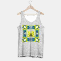Rock Baroque2 Tank Top regular, Live Heroes