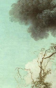 Jean-Honoré Fragonard :  The Progress of Love: The Lover Crowned (1771-1772) details.