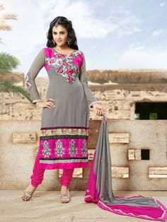 Pure Georgette Straight Cut Semi stitched Salwar suits with lining,  Price : 1850/- INR free shipping in India For Orders..Whatsapp or Call us @ 8861568859 Mail id: salwarstyles@gmail.com Peach Mode, Straight Cut, Salwar Suits, Indian Actresses, Fashion Online, Saree, Photoshoot, Pure Products, Womens Fashion