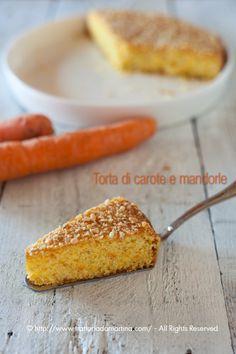 Torta di carote Buona e a tutta salute per grandi e piccini!