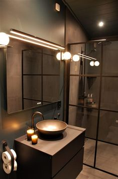 Bathroom Interior, Interior And Exterior, House Design, Mirror, Furniture, Inspiration, Home Decor, Home, Bathroom Modern