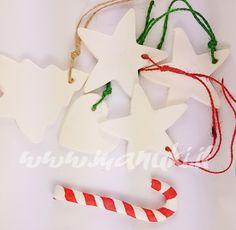 Manuki's ... a place of my own.: [DIY] Decorazioni per Albero di Natale Fai da Te