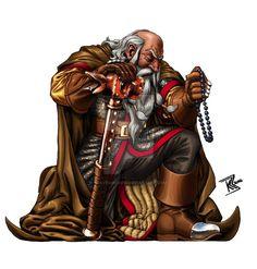 Dwarven Cleric by BraveSirKevin.deviantart.com on @DeviantArt                                                                                                                                                      More