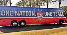 One Nation One Team Bus
