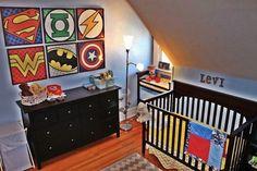 Cute superhero idea for Emmett's room