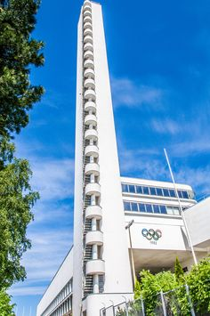 Tower of the Olympic stadium, Helsinki - Stadion Finnish Language, Visit Helsinki, Tower Building, Famous Buildings, Places Of Interest, Beautiful Buildings, Best Cities, Capital City, Where To Go