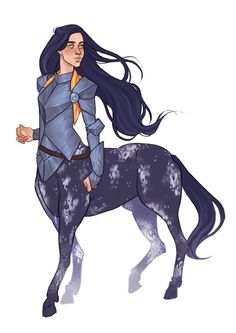 """stirped: """"Im just so in love with how this commission turned out, i had so much fun Character Creation, Fantasy Character Design, Character Design Inspiration, Character Concept, Character Art, Anime Centaur, Female Centaur, Dungeons And Dragons Characters, Dnd Characters"""