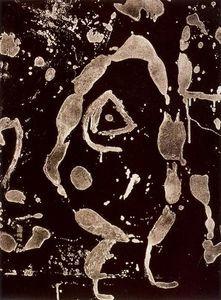 Rupestres Grans SERIE - (Joan Miro) Abstrato