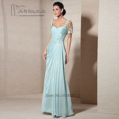 Vestido Madre de la Novia Largo Vintage Sage Mother of the Bride Lace Dresses for Weddings 2017 Short Sleeve Long Evening Party