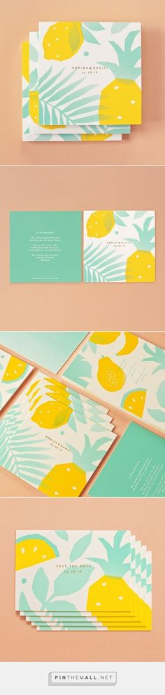 Tropical Wedding by Sunda Studio Fivestar Branding Agency Design and Branding Agency & Inspiration Gallery Web Design, Layout Design, Design Art, Print Design, Logo Design, Logo Marketing, Invitation Layout, Invitation Ideas, Fashion Show Invitation