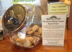 Tokens at the Essential Baking Company