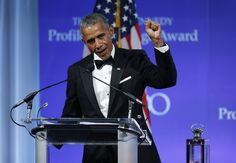 """Watch Barack Obama Thank Michelle for """"Sticking With Him"""" in Emotional New Speech"""