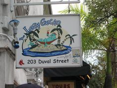 Lazy Gecko, Key West Get off when you use your Gold Card Key West! Key West Nightlife, Vacation Spots, Vacation Ideas, Key West Florida, End Of The World, Florida Beaches, Night Life, Lazy, Vacations