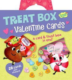 Peaceable Kingdom Treat Box Super Valentine Card Pack