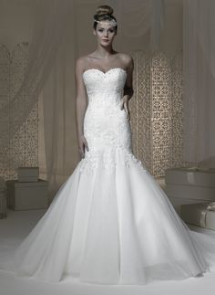 Stunning brand new lace & tulle fishtail.