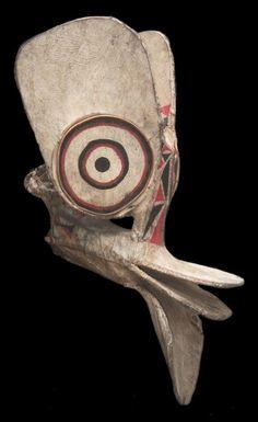 Galerie Papouasie Nouvelle Guinée - Papua New Guinea Masques et crochets - Masks and hooks MASQUE BAINING / BAINING MASK