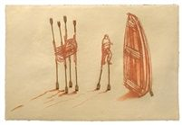 Sin Titulo, 2013. Estampe & multiples, 86,4 x 127 cm par Kcho