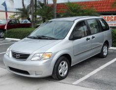 Cheap 2001 Mazda MPV LX for sale in Florida in very good condition inside and out for only $3890