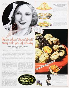 Vintage Candy Advertisements of the 1930s
