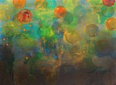 """""""The Tipping of Day to Dusk"""" Wayne State University, Dusk, New Art, Resin, Oil, Canvas, Artist, Painting, Tela"""