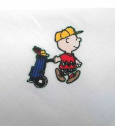 Charlie Brown golfer