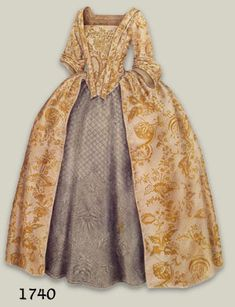 What did they wear at Locust Grove? 1740 *BELLE
