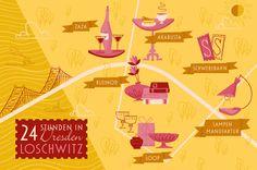 24 Stunden in Dresden Loschwitz for cookionista | Illustration: ELLIJOT - Gestaltung mit Herz und Hand