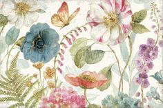 Rainbow Seeds Flowers - Wall Mural & Photo Wallpaper - Photowall