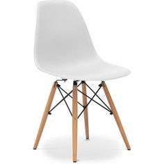 Bon Privatefloor   Chaise Dsw Charles Eames Style   Polypropylène Matt   Lot De  4 Blanc   Pas Cher Achat / Vente Chaises