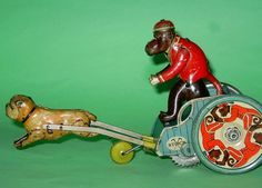 "Stock 1920 ""Jolly Pals"" tin toy."