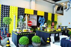 Estas ideais para decoração de festa infantil tema Transformes são bem especiais (Foto: kidsplash.com.br)