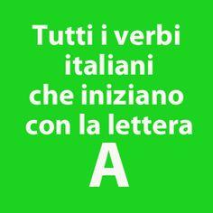 verbi-con-lettera-a