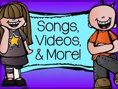- tips for teaching elementary school: Songs, Videos, and More! Preschool Songs, Kids Songs, Music Education, Kids Education, Health Education, Physical Education, Planners, Rhymes For Kids, Guy