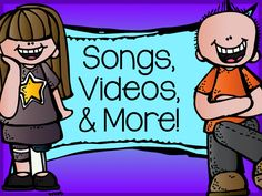 Songs, Videos, and More!  Links to Pinterest boards full of links to songs, videos, and stories.