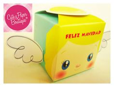 ANGEL BOX   facebook / Cute and Paper Boutique