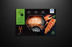 Frozen Lobster, Frozen Seafood, Food Packaging Design, Packaging Ideas, Seafood Company, Pouch Packaging, Fish Recipes, Deli, Food Porn