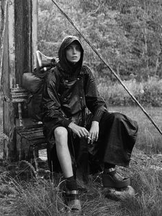 Daria Werbowy by Mikael Jansson for Interview Magazine September 2014