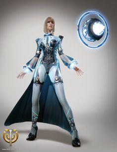 Skyforge показа Cryomancer ~ MMORPG news