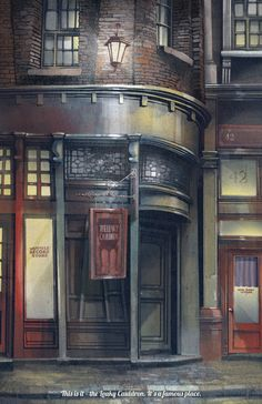 Harry Potter: Diagon Alley Posters - Created by The Green Dragon Inn