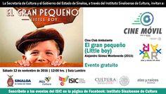 Cine Club Ambulante te invita a la proyección del filme: El Gran Pequeño. Sábado 12 de noviembre de 2016 en la Sala Lumière del ISIC, a las 12:00 horas. Entrada libre. #Culiacán, #Sinaloa.