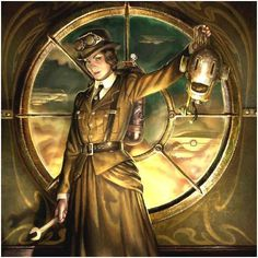 I love Steampunk art