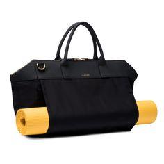 8da9a3f54ac Name Satchel- Luxury gym bag made with anti-microbial nylon, genuine  Italian leather