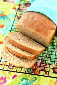 I'm always on the lookout for good wheat bread recipes. This one calls for 1/2 stick of butter, so that has got to be a good place to start.