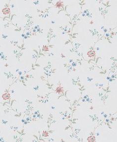 tienda online telas & papel | Papel flores Victoria