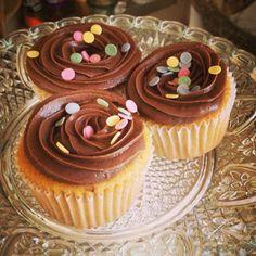 Cupcakes de Chocolate blanco y crema de colacao