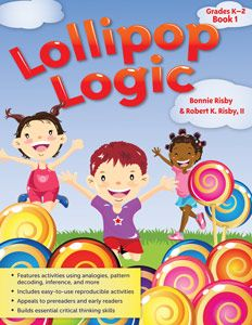 This is a book of logic puzzles that kids would enjoy.  It's fun!  The best puzzles are the ones in the front, and the age range for smart kids is probably 4 -8.  Both boys and girls would like it, and anyone who loves brain teasers will love it! Reviewed by Drak, age 7