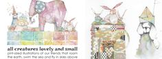 All Creatures Lovely and Small by Danielle Donaldson on Jeanne Oliver Creative Network